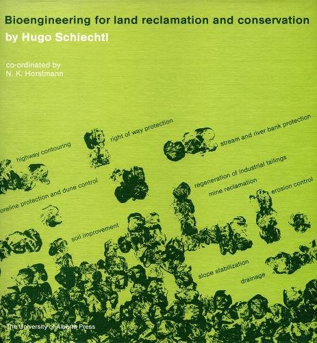9780888640536: Bioengineering for Land Reclamation and Conservation