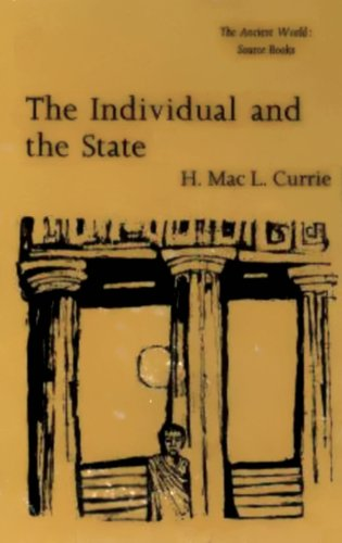 9780888665294: Individual and the State (Ancient World: Source Books)