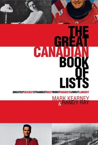 9780888822130: The Great Canadian Book of Lists