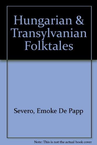 9780888871596: Hungarian & Transylvanian Folktales