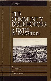 9780888879059: Community Doukhobors a People in Trasition