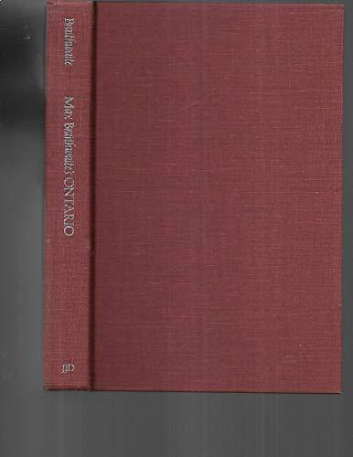 Max Braithwaite's Ontario (9780888940643) by Braithwaite, Max