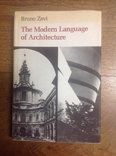 9780888941527: Modern Language of Architecture