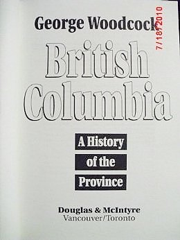 9780888947024: British Columbia: A History of the Province