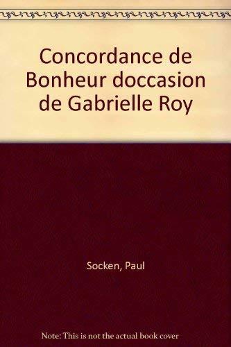 Concordance de Bonheur d'occasion de Gabrielle Roy: Socken, Paul