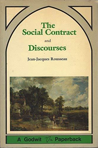 The Social Contract and Discourses (A Godwit: Jean-Jacques Rousseau