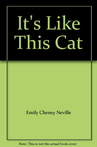 9780889024960: It's Like This Cat