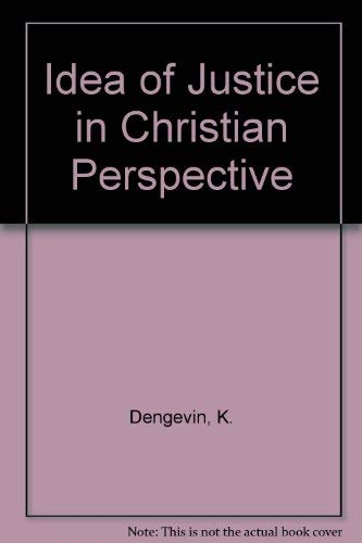 The Idea of Justice in Christian Perspective