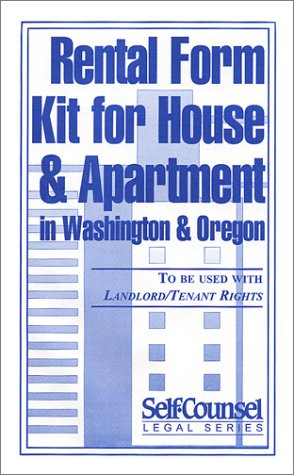 9780889089303: Rental Form Kit for House & Apartment in Washington & Oregon (Self-Counsel Legal)