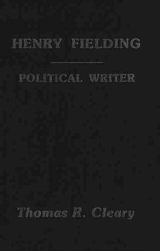 Henry Fielding: Political Writer