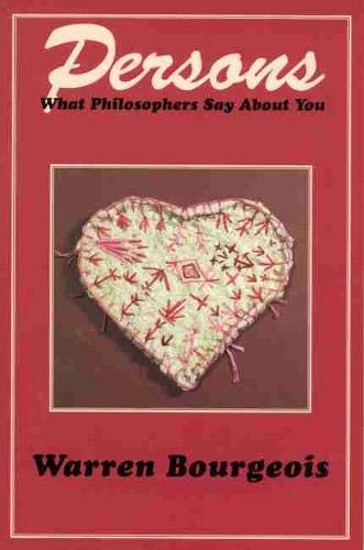 9780889202511: Persons―What Philosophers Say about You (Vol 1)