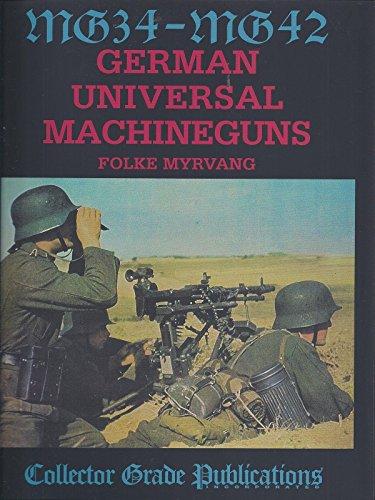 9780889352780: MG-34 - MG-42: German Universal Machine Guns