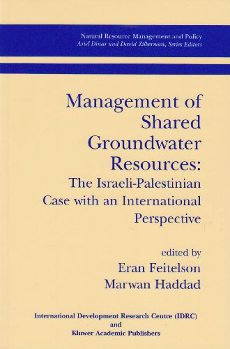9780889369122: Management of Shared Groundwater Resources: The Israeli-Palestinian Case with International Perspective