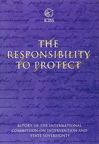 9780889369603: The Responsibility to Protect: The Report of the International Commission on Intervention and State Sovereignty