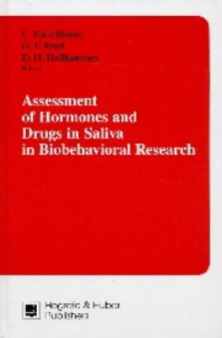 9780889370500: Assessment of Hormones and Drugs in Saliva in Biobehavioral Research