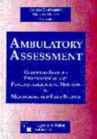 9780889371675: Ambulatory Assessment: Computer-Assisted Psychological and Psychophysiological Methods in Monitoring and Field Studies