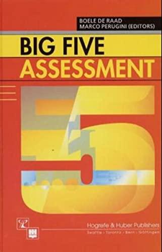 9780889372429: Big Five Assessment