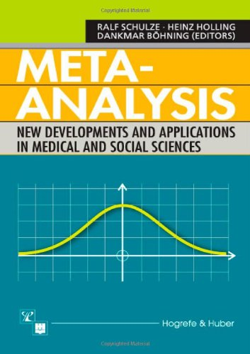 9780889372665: Meta-analysis: New Developments and Applications in Medical and Social Sciences