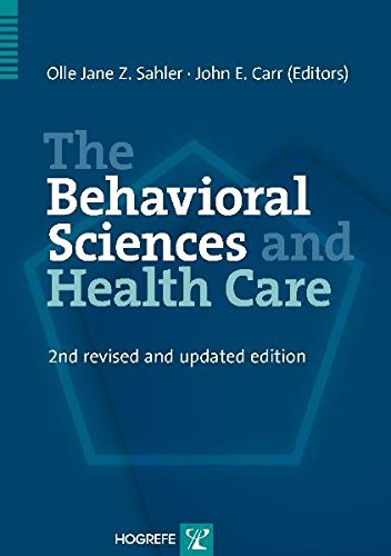 9780889373075: The Behavioral Sciences and Health Care