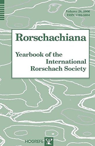 9780889373464: Rorschachiana: Yearbook of the International Rorschach Society, Volume 28: v. 28