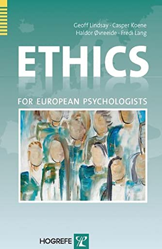 9780889373570: Ethics For European Psychologists
