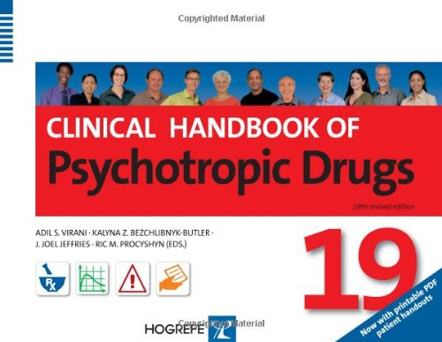 9780889373952: Clinical Handbook of Psychotropic Drugs