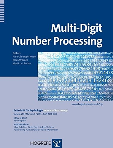 9780889373990: Multi-Digit Number Processing, topical issue of Zeitschrift fuer Psychologie, Journal of Psychology (Zeitschrift Fur Psychologie / Journal of Psychology)
