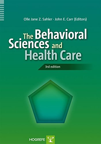 9780889374331: The Behavioral Sciences and Health Care