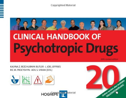 9780889374515: Clinical Handbook of Psychotropic Drugs