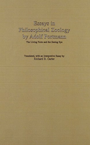 9780889463233: Essays in Philosophical Zoology by Adolf Portmann: The Living Form and the Seeing Eye