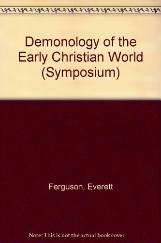 9780889467033: Demonology of the Early Christian World (Symposium)