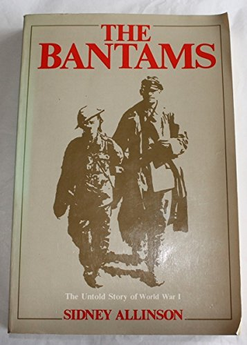 9780889621909: The Bantams: The Untold Story of World War I