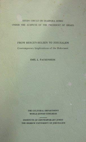 9780889624900: From Bergen-Belsen to Baghdad: The Letters of Alex Aronson