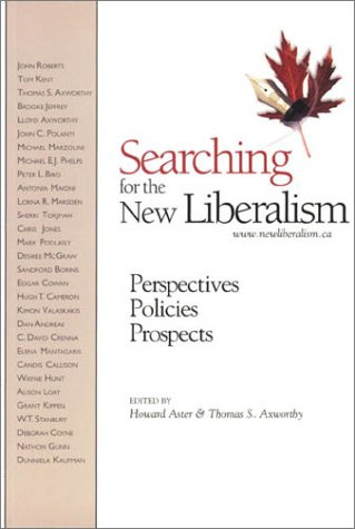 9780889627970: Searching for the New Liberalism