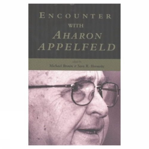 9780889628076: Encounter with Aharon Appelfeld