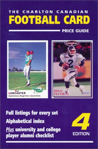 9780889681996: Canadian Football Card Price Guide (4th