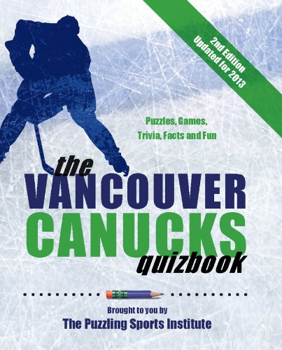 9780889712805: The Vancouver Canucks Quizbook: Puzzles, Games, Trivia, Facts and Fun