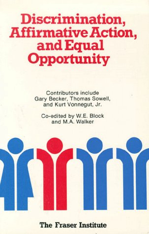 9780889750395: Discrimination, Affirmative Action, and Equal Opportunity