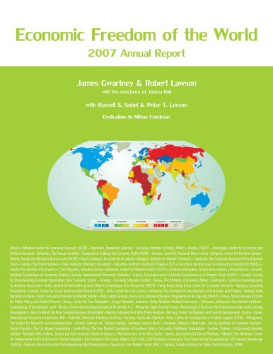 9780889752214: Economic Freedom of the World 2007 Annual Report