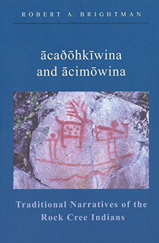 9780889771956: Traditional Narratives of the Rock Cree Indians