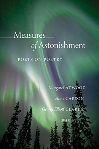 9780889773714: Measures of Astonishment: Poets on Poetry