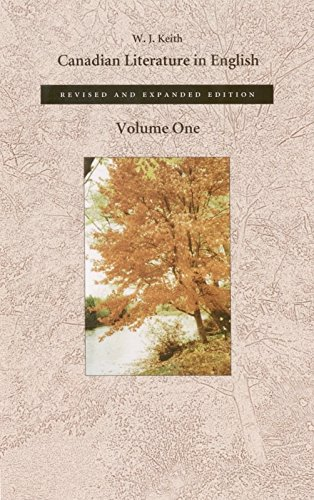 9780889842830: Canadian Literature in English, Volume 1
