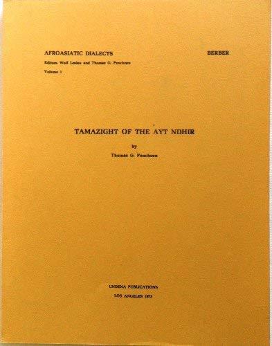 9780890030004: Tamazight of the Ayt Ndhir