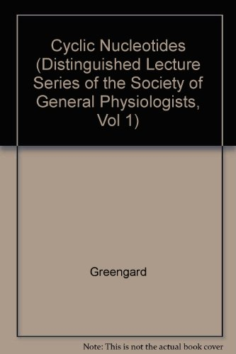 9780890042816: Cyclic Nucleotides, Phosphorylated Proteins and Neuronal Function (Distinguished Lecture Series of the Society of General Physiologists, Vol 1)