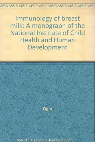 9780890043875: Immunology Of Breast Milk