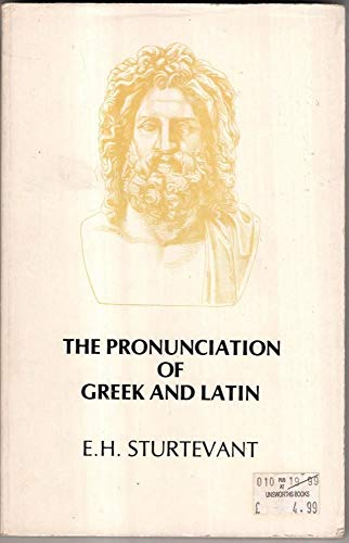 9780890050873: Pronunciation of Greek and Latin