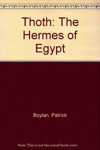 9780890052808: Thoth-The Hermes of Egypt