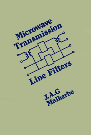 9780890060636: Microwave Transmission Line Filters (Microwave Library)