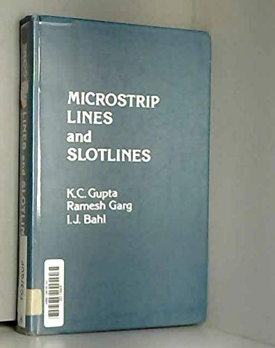 9780890060742: Microstrip Lines and Slotlines