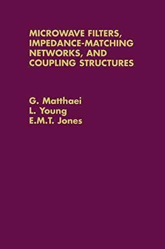 9780890060995: Microwave Filters, Impedance-Matching Networks, and Coupling Structures